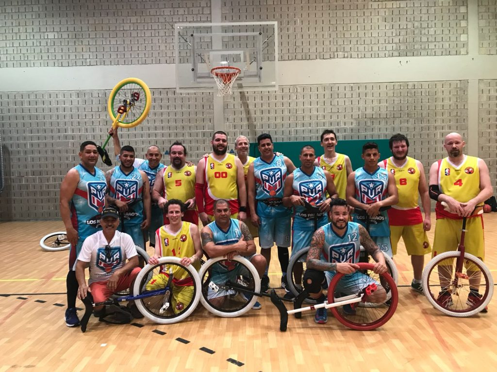 Provided by The National Unicycle Team of Puerto Rico, Candido Unicycle Pro, Barreto El Show